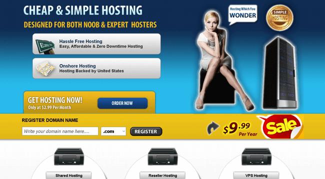 old hosting